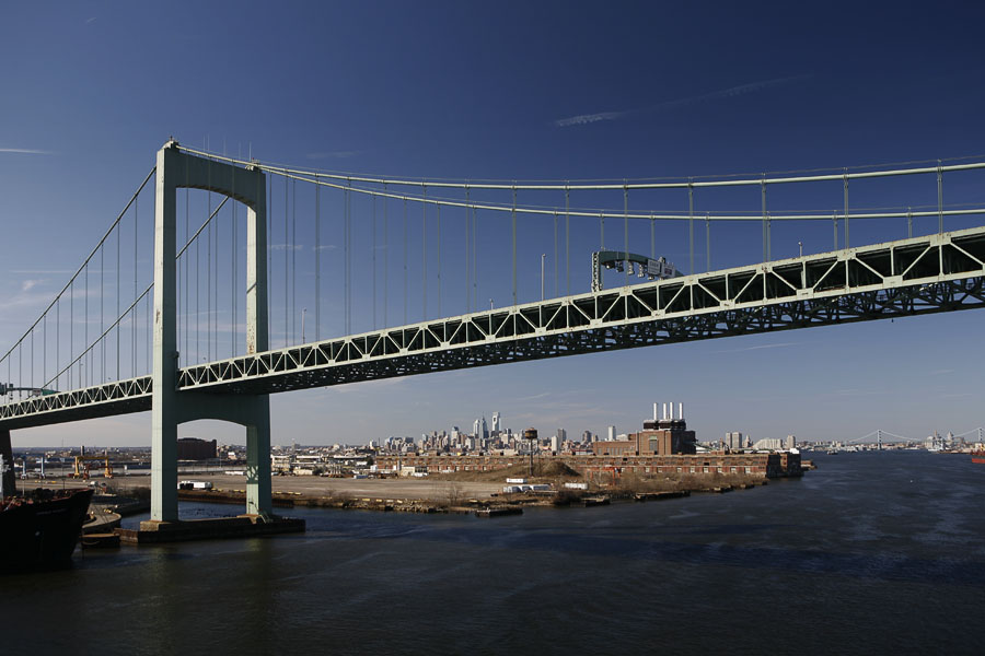 Walt Whitman Bridge (Philadelphia USA)