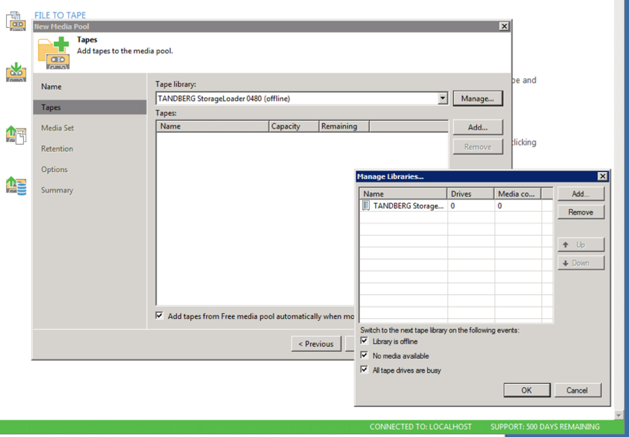 Cannot remove tape Library - Veeam Community Forums